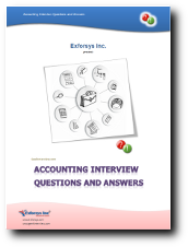 Accounting Interview Questions PDF