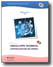 Oracle Apps Technical Interview Questions and Answers PDF